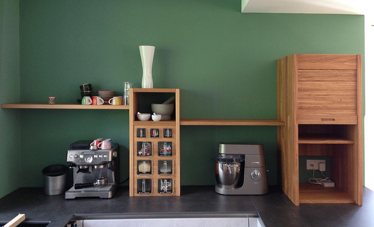 Küchenmöbel, Ablage, Schubfächer
